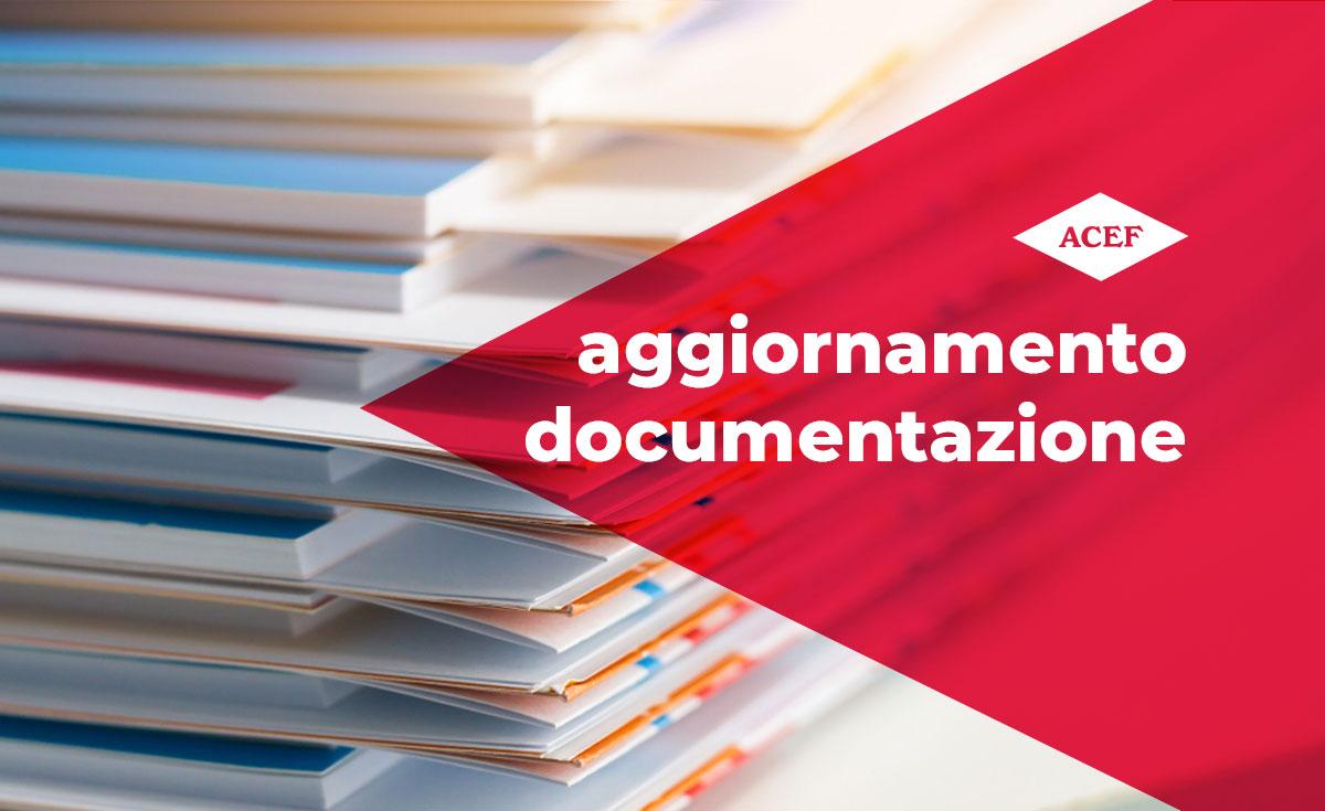 Aggiornamento documentazione: brevetto Trilostano ad uso veterinario